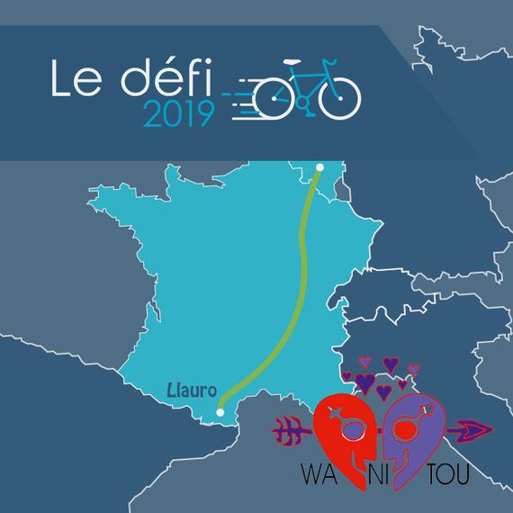 Défi Vélo - 1000KM (Belgique > Perpignan)