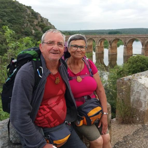 Jeanne et Michel vers Compostelle