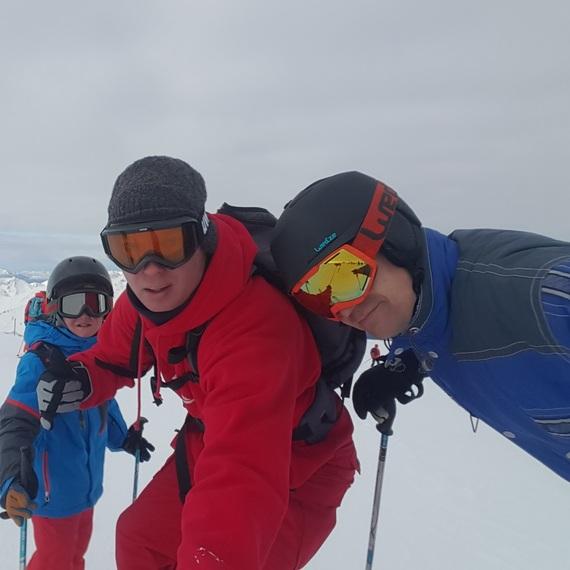 les amoureux du ski