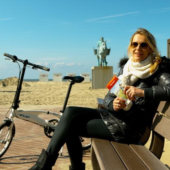 Le Défi Cyclo de Sandrine Corman et Thomas Van Hamme