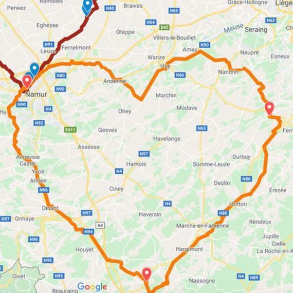 Cyclo Grand Coeur Télévie 2020