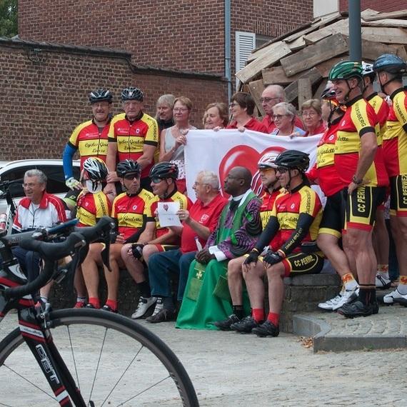 Voyage solidaire vers l'Alsace à vélo