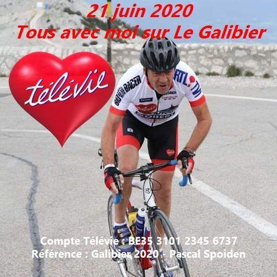Tous avec moi sur Le Galibier le 21 juin 2020