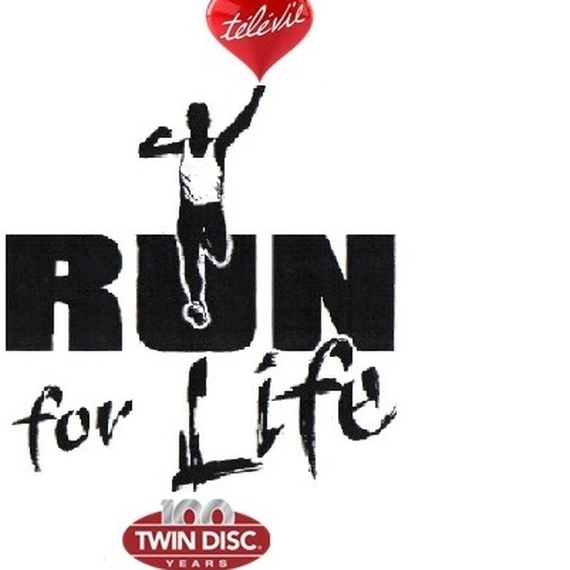 Twindisc court pour la vie / Twindisc run for life